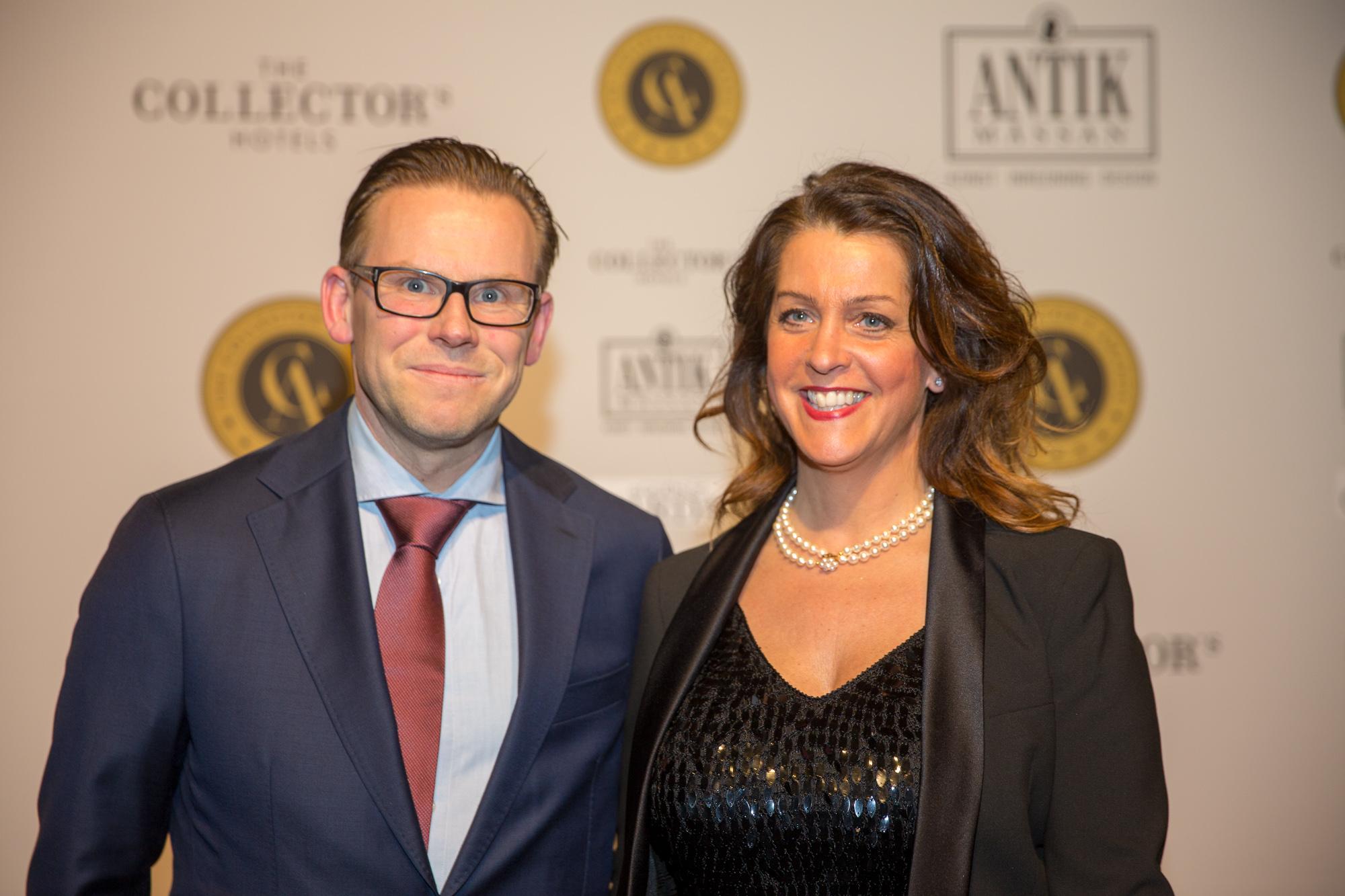 Mikael Anjemark och Jennifer Poole
