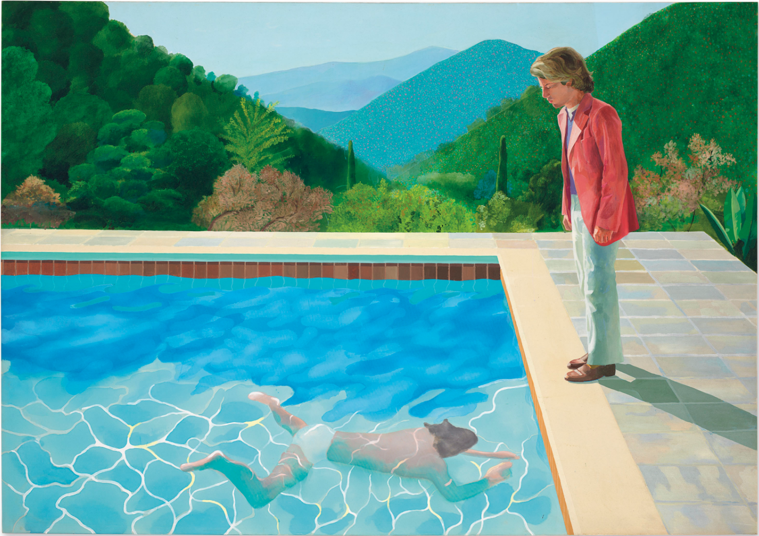 Portrait of an Artist (Pool with Two Figures). 1972. David Hockney. Foto: Christie's
