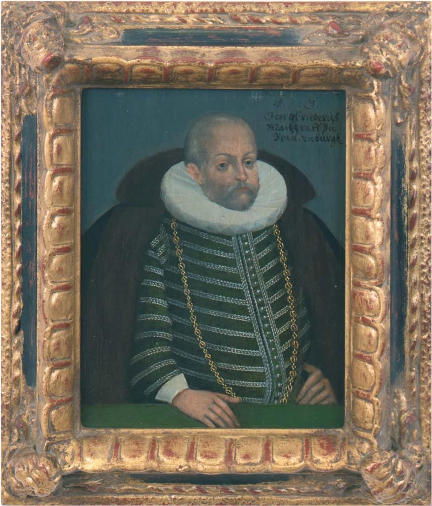 Portrait des Georg Friedrich Markgraf zu Brandenburg-Ansbach, Öl/Weichholz, 20x15 cm, 17./18. Jh. Limitpreis: 8.000 EUR