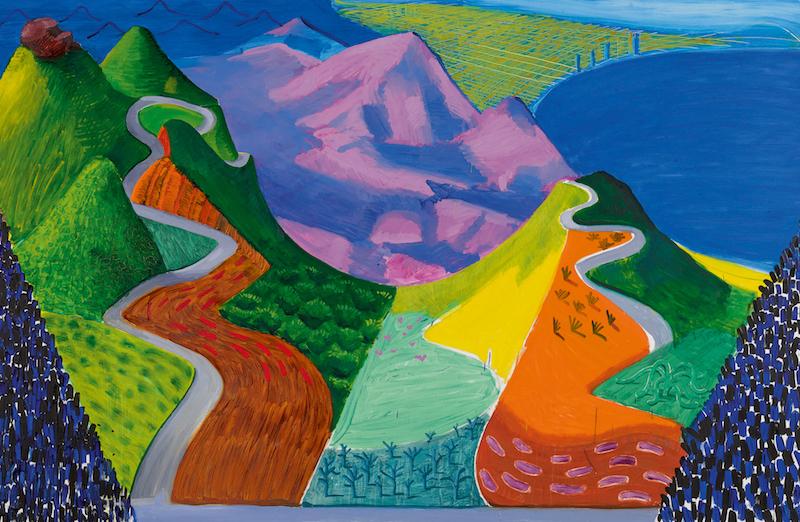 David Hockney, « Pacifi