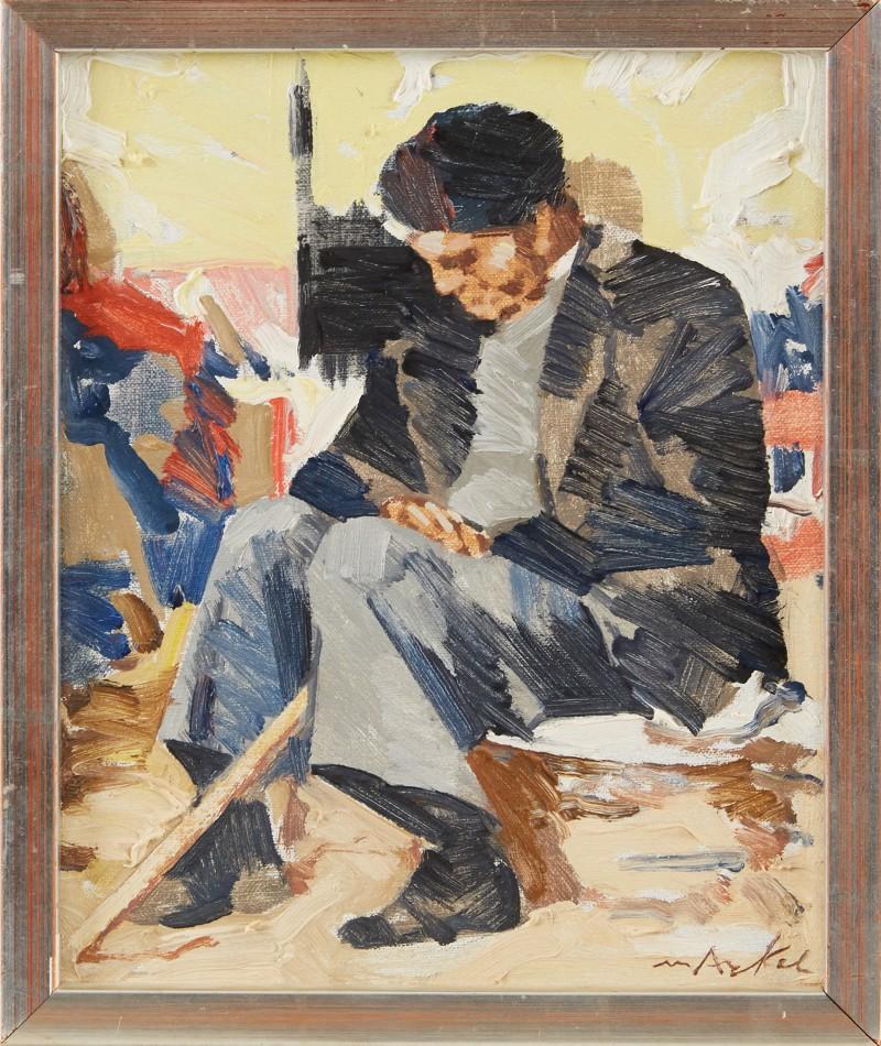 """Vilande man"" Astrid van Arkel. Foto: Stockholms Auktionsverk Online."