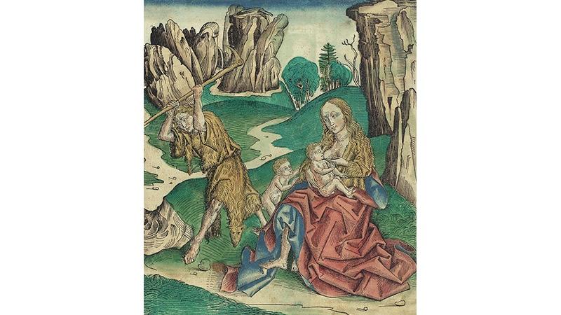HARTMANN SCHEDEL - Weltchronik (lateinische Ausgabe). 11 Bll. aus der Liber chronicarum. Nürnberg, A. Koberger 1493