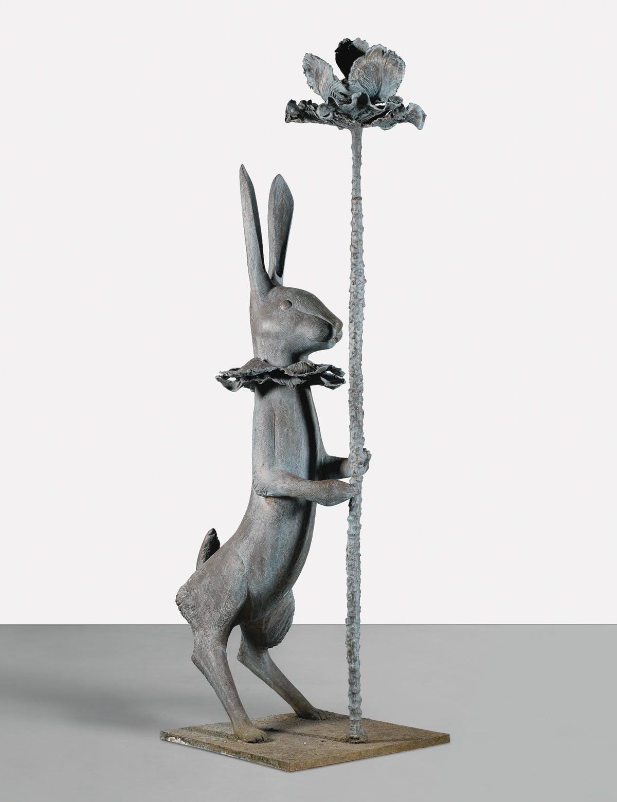 Le lapin de victoire, image ©Sotheby's