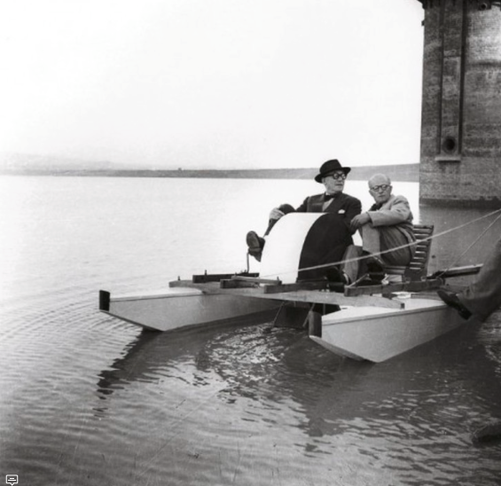 Le Corbusier and Pierre Jeanneret. Image: Archdaily