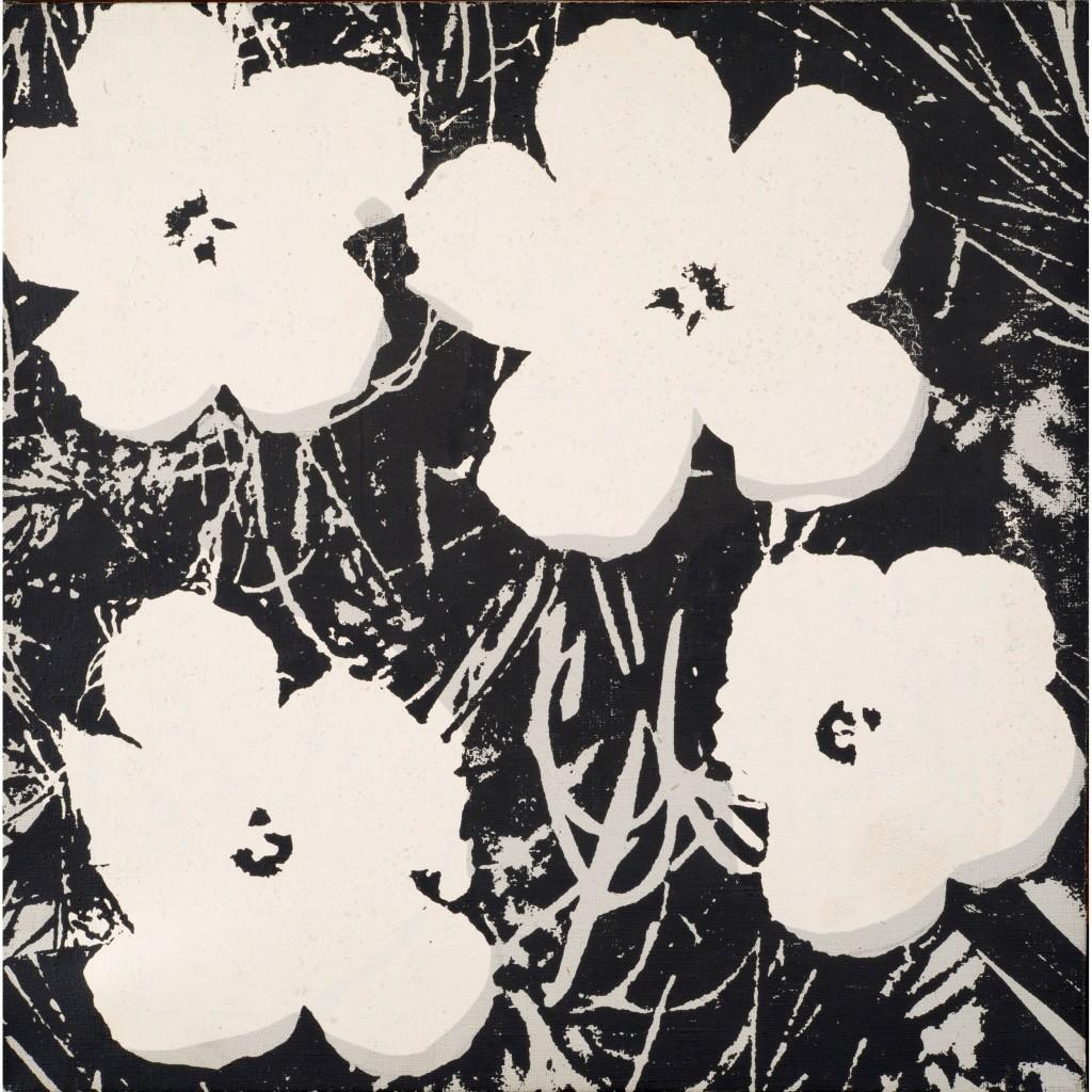Andy Warhol, Flowers, 1964-65
