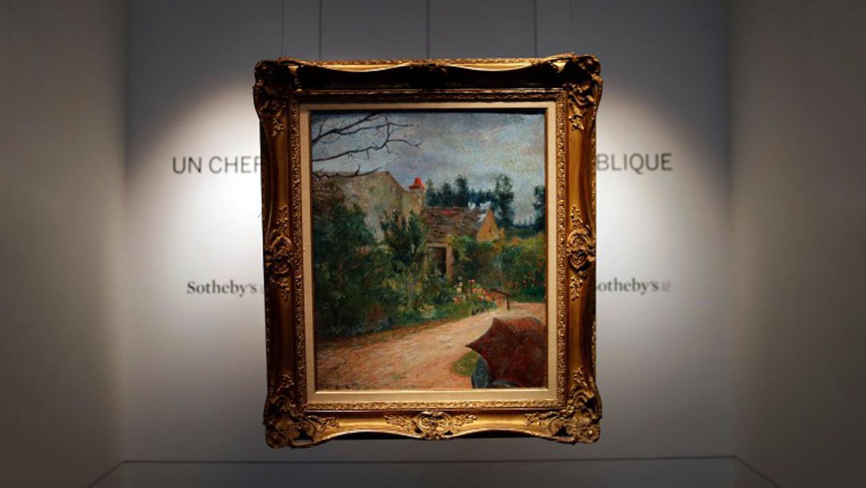 I slutet av mars ska en målning signerad den franske konstnären Paul Gauguin  auktioneras ut. Under de senaste 140 (!) åren har den bara visats  offentligt ... 818b9e83a39bb