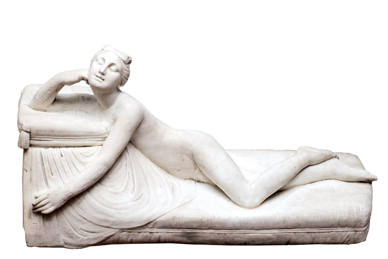 "JOSÉ ÁLVAREZ CUBERO. ""Diana"". Escultura de mármol"