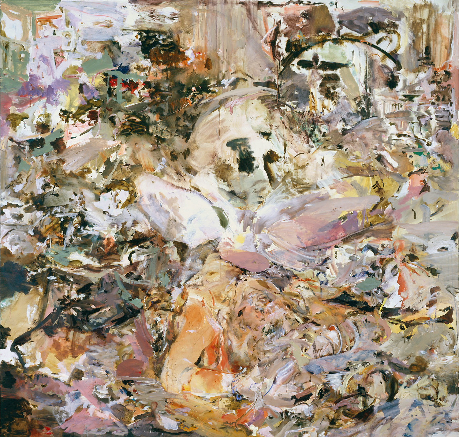 Cecily Brown, « Skulldiver IV », 2006-07, image ©Cecily Brown et Gagosian,