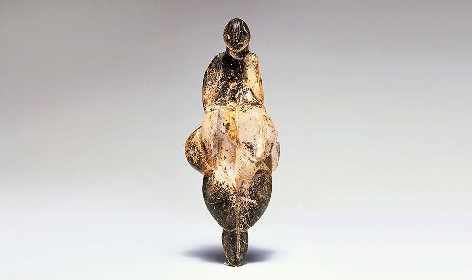 La Venus de Lespugue Image via Musée de l'Homme