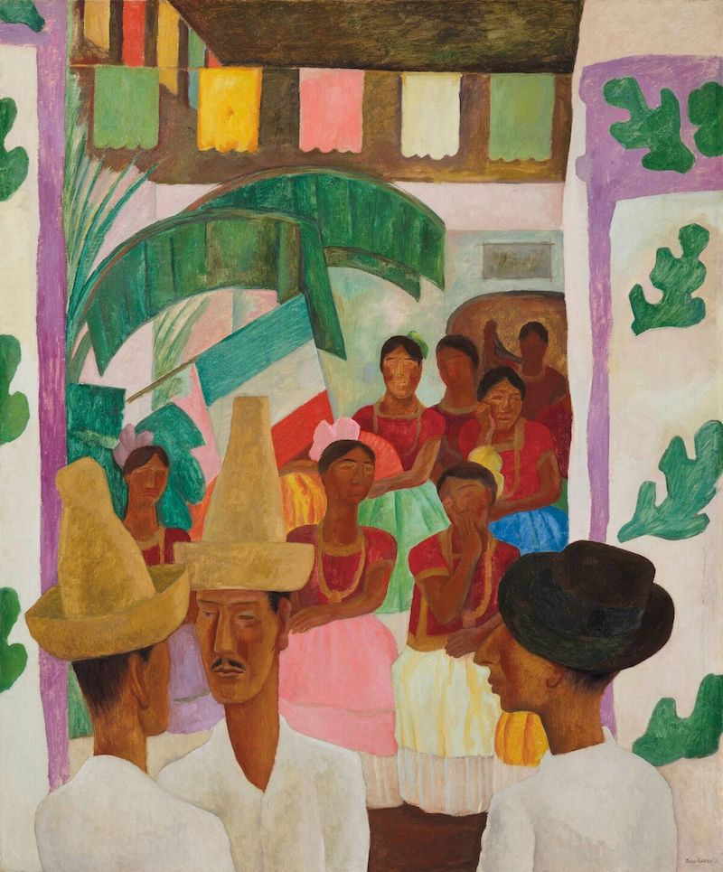Världsrekord för konstnären och latinamerikansk konst blev det när Diego Riveras målning såldes på Christie´s