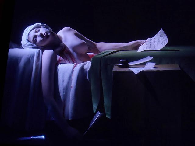 Robert WIlson, Portrait of Lady Gaga as Marat