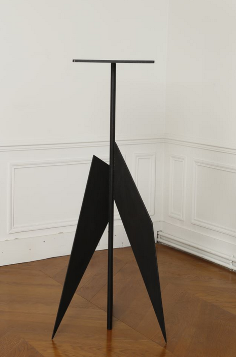 Philippe Hiquily (1925-2013),  Sellette pour Germaine Richier, 2006