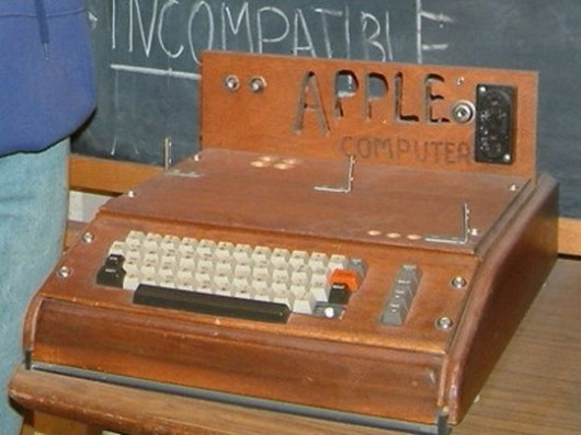 Apple-1 au musée Smithsonian. Rebelpilot/CC BY 2.0.