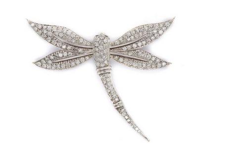 Dragonfly brooch Low estimate: £1 300 Lamas Bolano