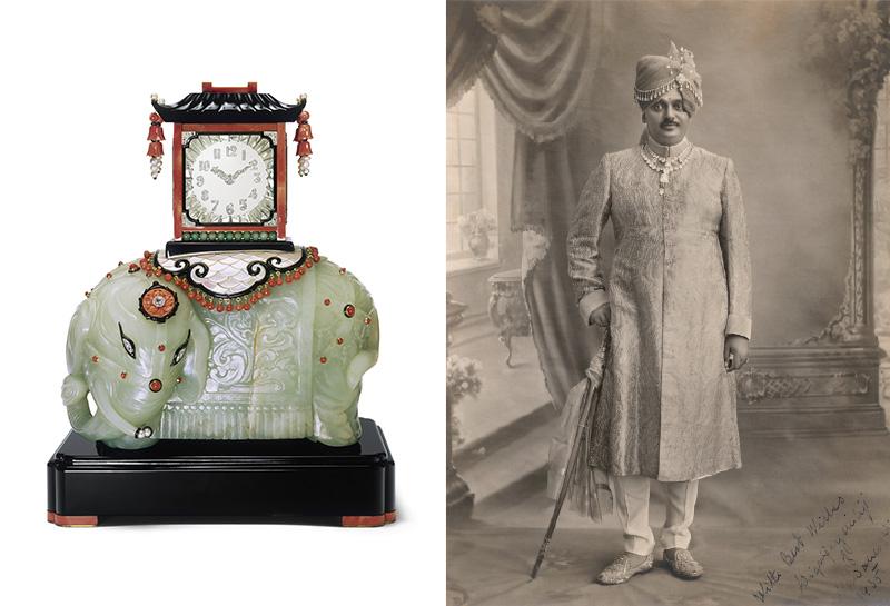 Die Mystery Clock des Maharadscha von Nawanagar von Cartier Paris (1928) und ihr Besitzer | Foto: © Cartier
