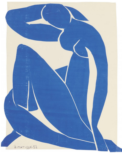 Henri Matisse, Nu Bleu II © 2014 SUCCESSION H. MATISSE / ARTISTS RIGHTS SOCIETY (ARS), NEW YORK