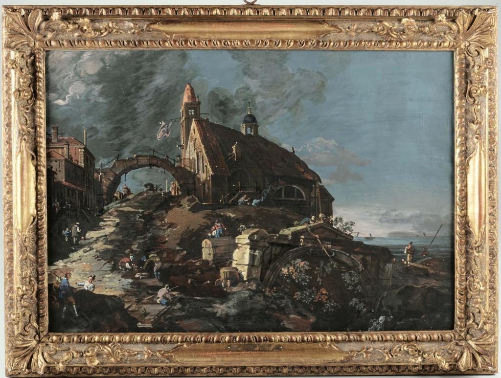 Giovanni Antonio, Canal called Canaletto, circa 1740 Estimate: $380 000-435 000