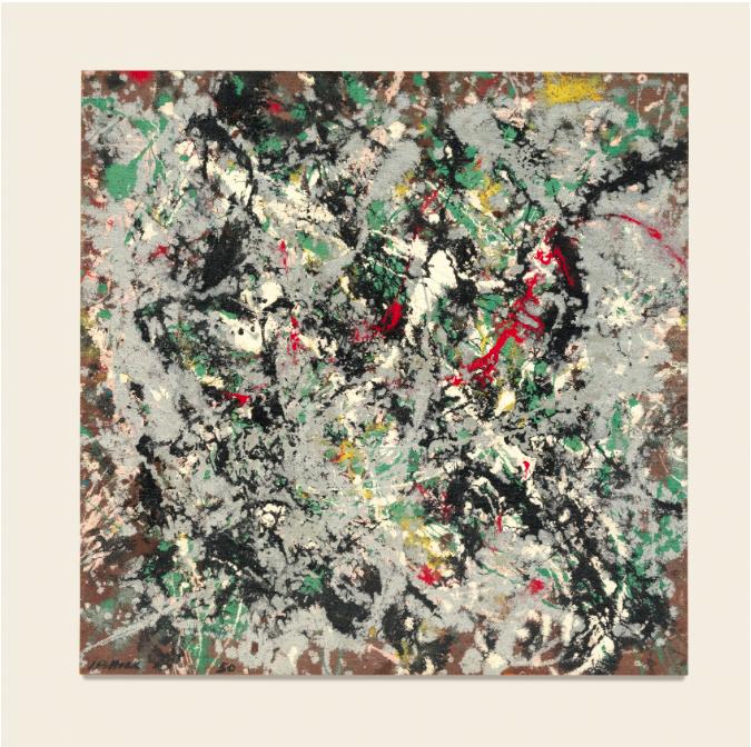 """Jackson Pollock """"Number 12"""" 1950. Utrop: 125 000 000 sek. Sotheby's"""