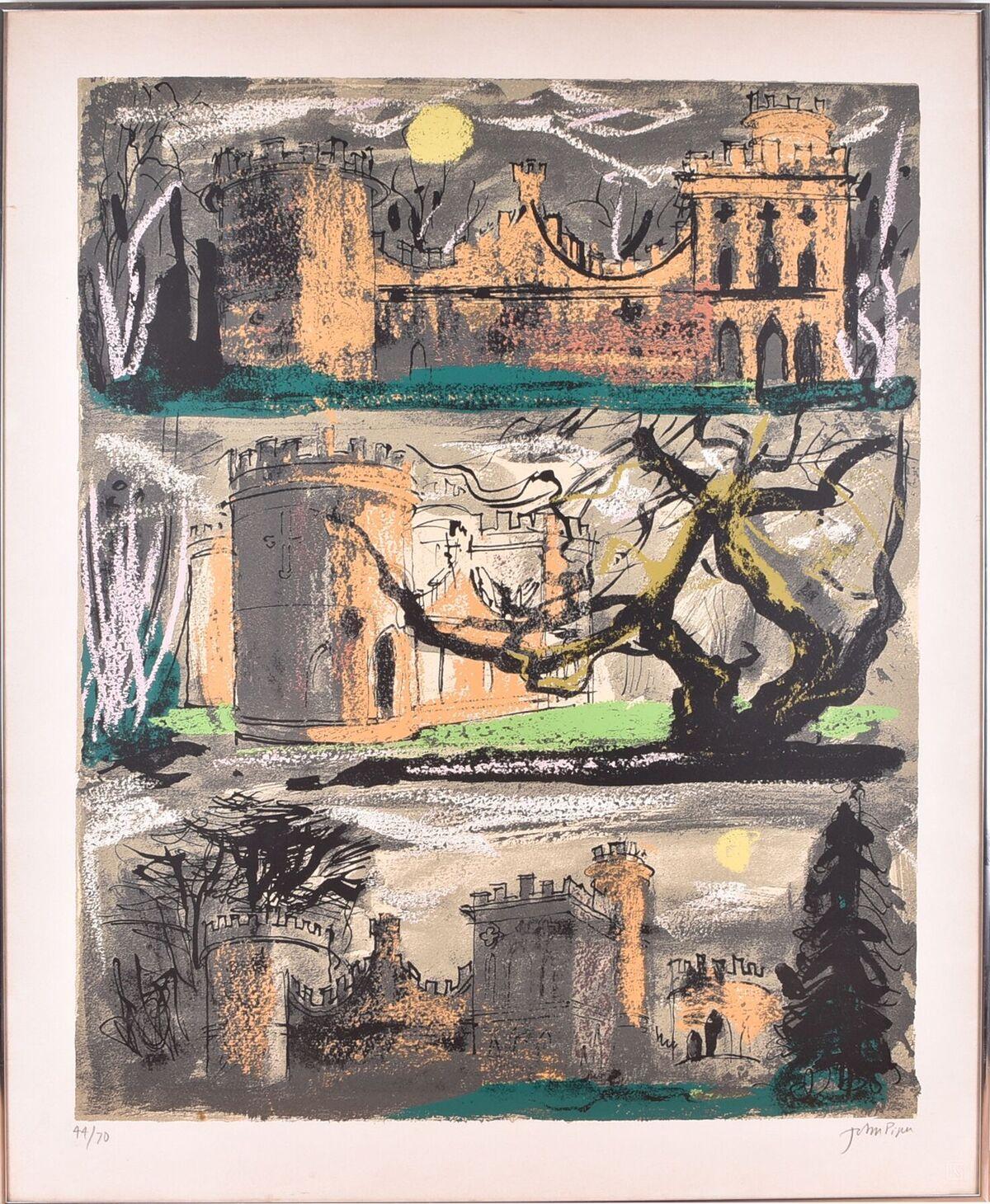 Lot 137: John Piper (1903-1992) British, Clytha Castle