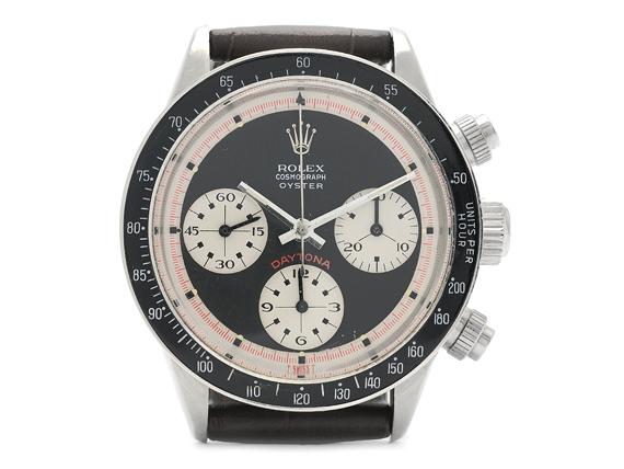 "Rolex_armbandsur_Barnebys_ Cosmograph Oyster_Daytona_ ""Paul Newman""_""Units per hour 200"""