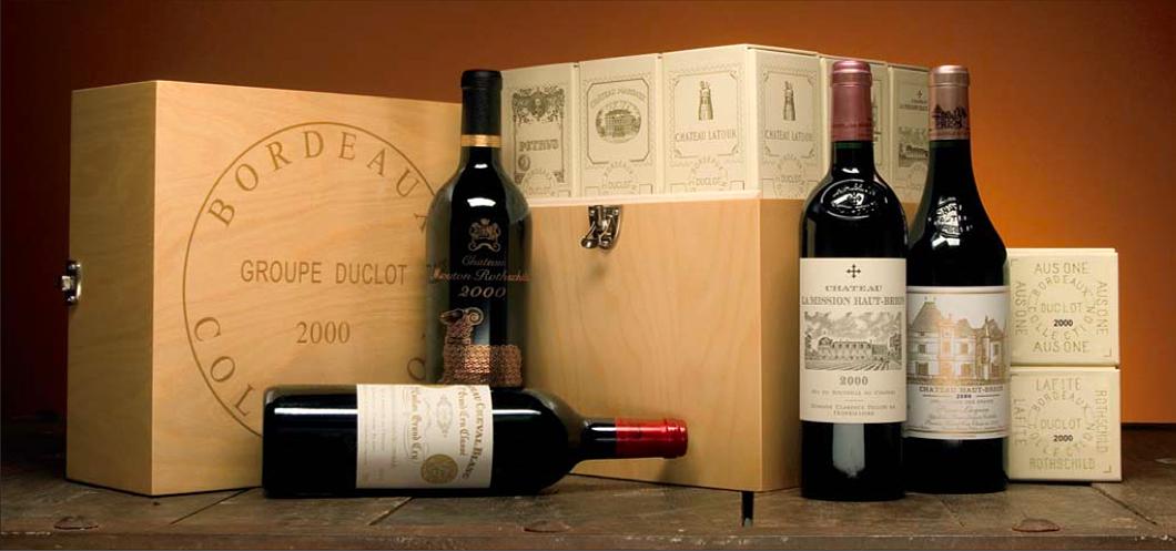 Caisse Collection Duclot 2000, image d'illustration via Hart Davis Hart Wine Co