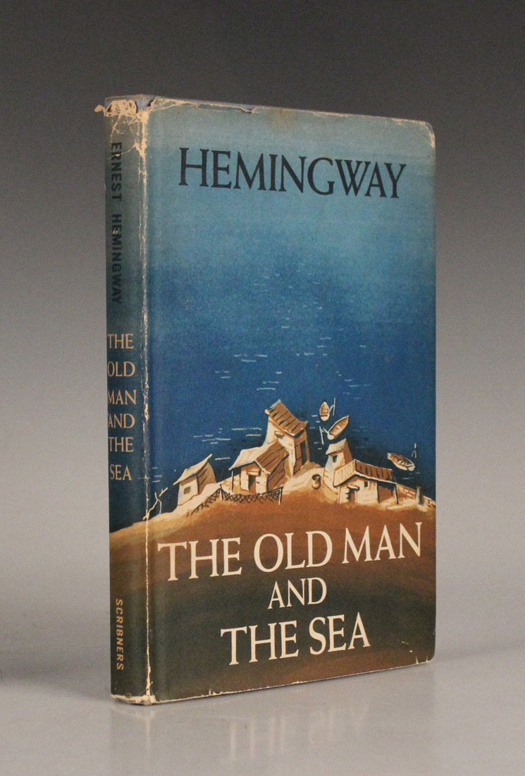 HEMINGWAY, Ernest. The Old Man and The Sea. New York: Charles Scribner's Sons, 1952. On sale at Toovey's