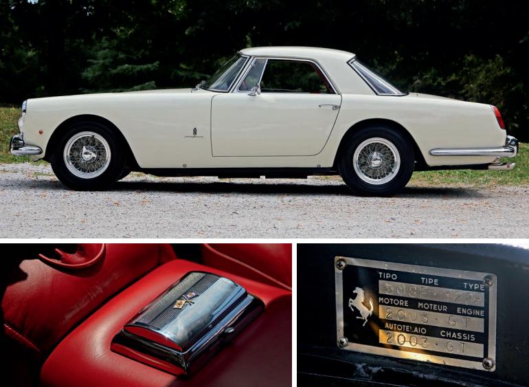 Ferrari 250 GT Coupé Pininfarina 1960 - Aguttes