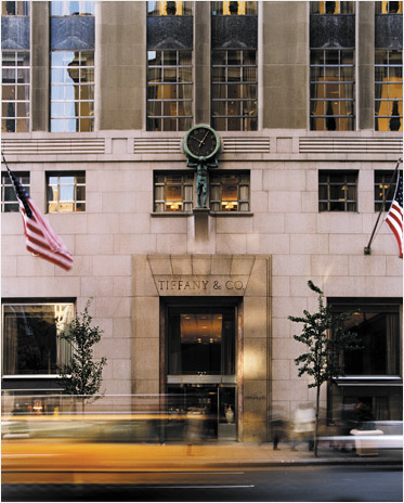 Der Flagship-Store von Tiffany & Co. an der Fifth Avenue in Manhattan | Foto via Tiffany & Co.