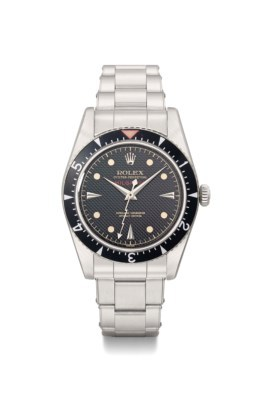 A Rolex Oyster Perpetual Milgauss from 1958 was sold at Christie's for £257 455