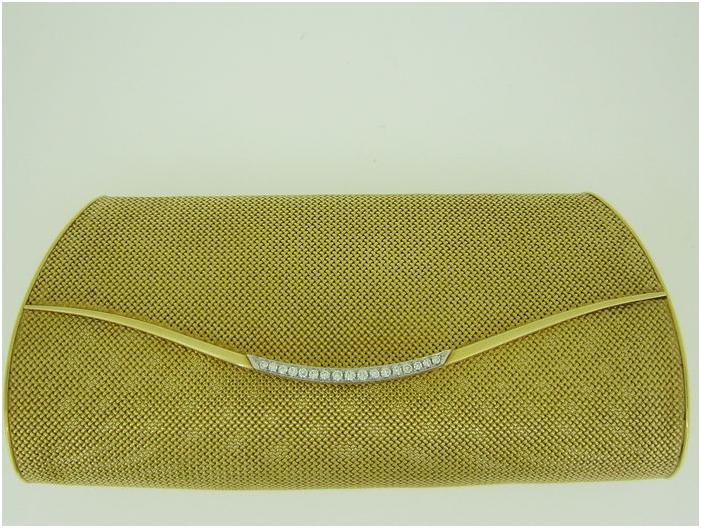 Poggio Fratelli - handväska men guld och diamanter, 1950. Utrop: Hos Catawiki