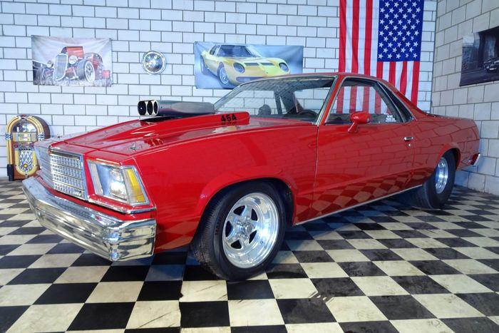 Chevrolet - El Camino Big Block 468 ci (7,7 l) V8 – 1979 Schätzpreis: 18.500-25.000 EUR