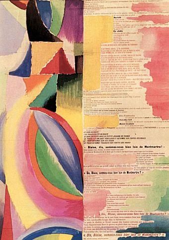 La prose du Transsibérien et de la Petite Jehanne de France, Sonia Delaunay and Blaise Cendrars. 1912