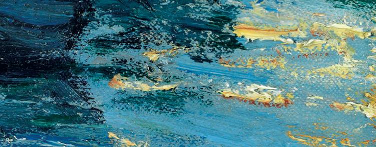 Detail of Gustave Caillebotte's Voiliers sur la Seine à Argenteuil, 1886