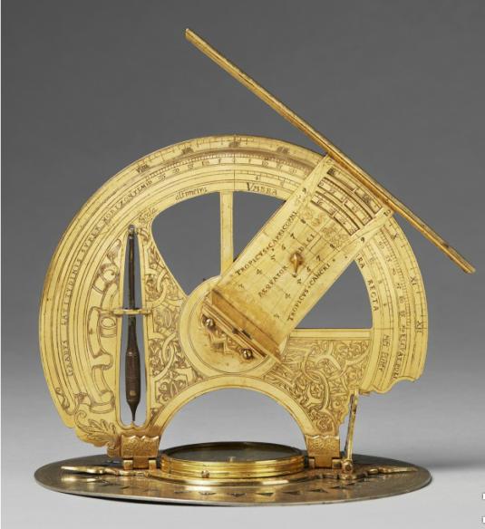 Theodolit Bayern, 16. Jahrhundert. Schätzpreis umgerechnet ca.: 321 000 EUR