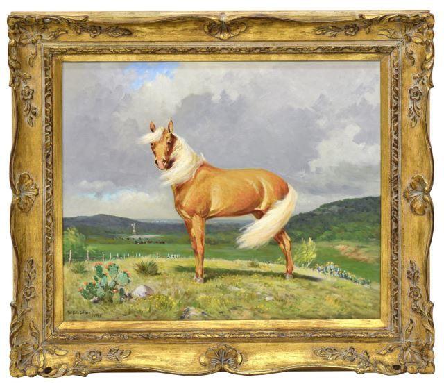 Porfirio Salinas, « The Palomino », image ©Austin Auctions
