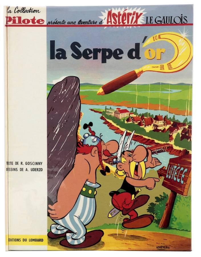 Astérix, La Serpe d'or, édition originale de 1962