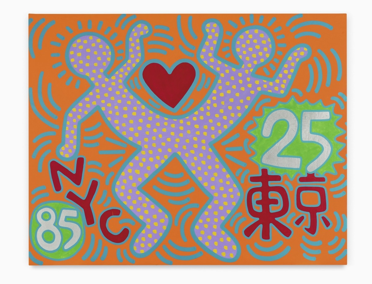 "KEITH HARING. ""Sister Cities - For Tokyo"" (1985)"