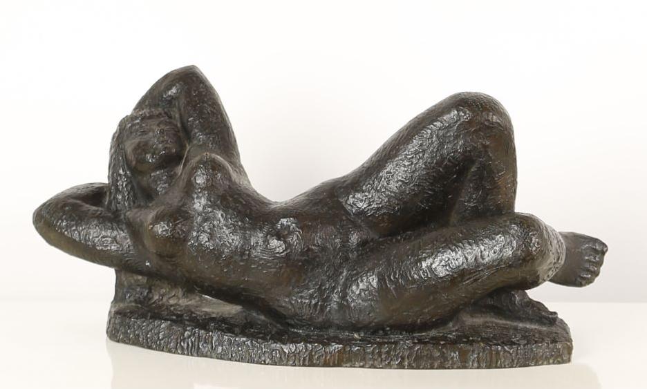 Lucien Gibert (1904-1988), Femme nue allongée