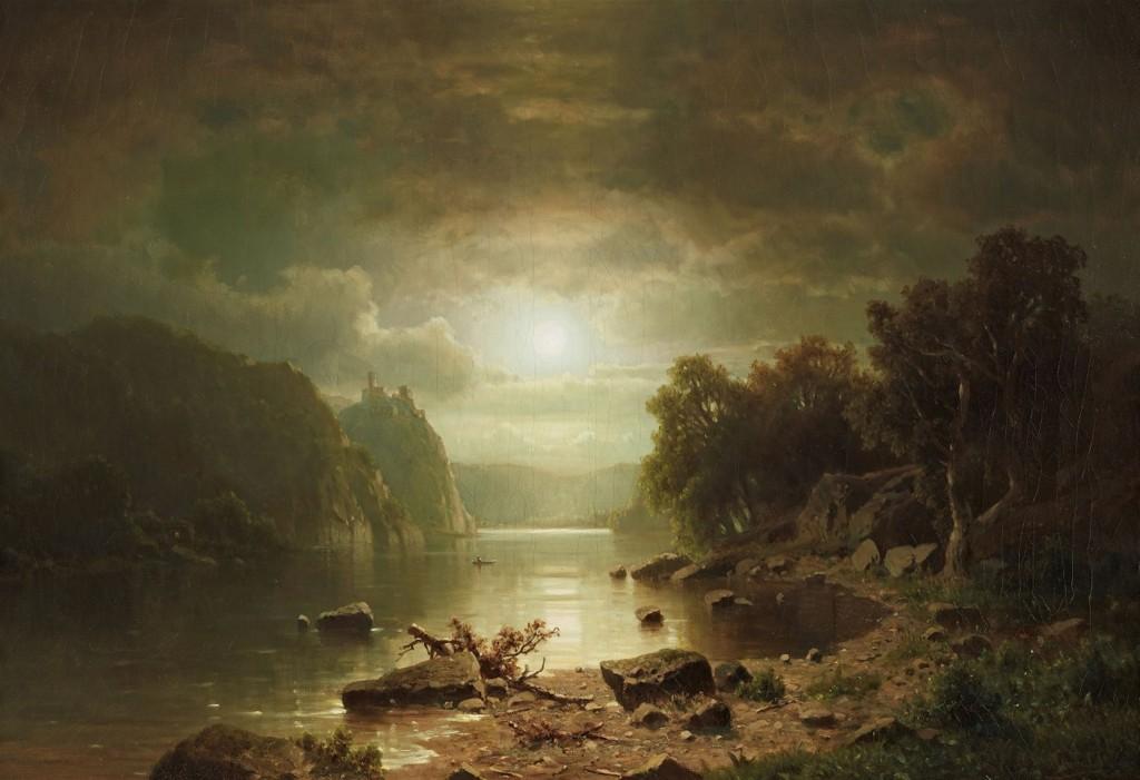 csm_Lempertz_1074_133_Paintings_15th_19th_C_Adolf_Chwala_Moonlit_River_Landscape_w_d704da849a