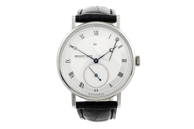 Reloj de pulsera BREGUET Classique en oro blanco para caballero
