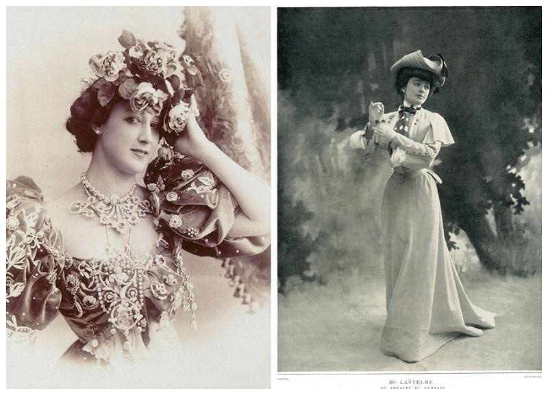 La Bella Otero y Jeanne Paquin
