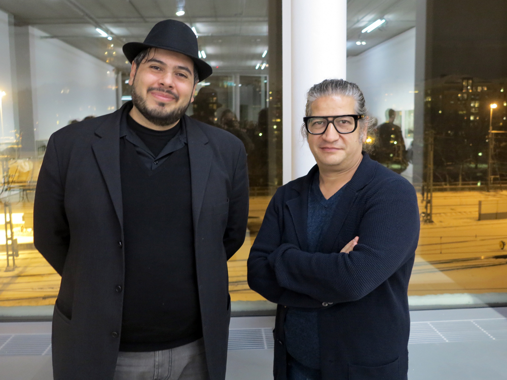 Siddhartha Meneses och Konstnären Carlos Garaicoa