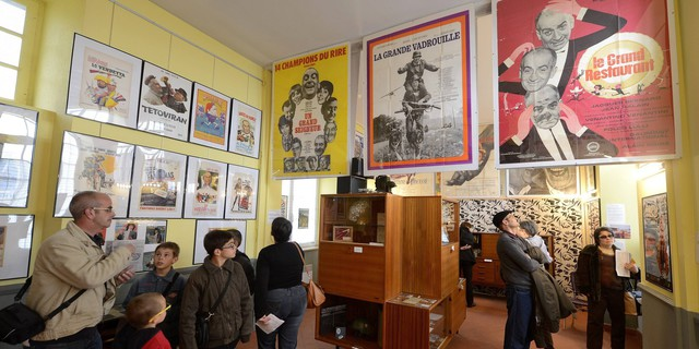Le musée lors de son emménagement à Clermont en mai 2014 Image via Culturebox
