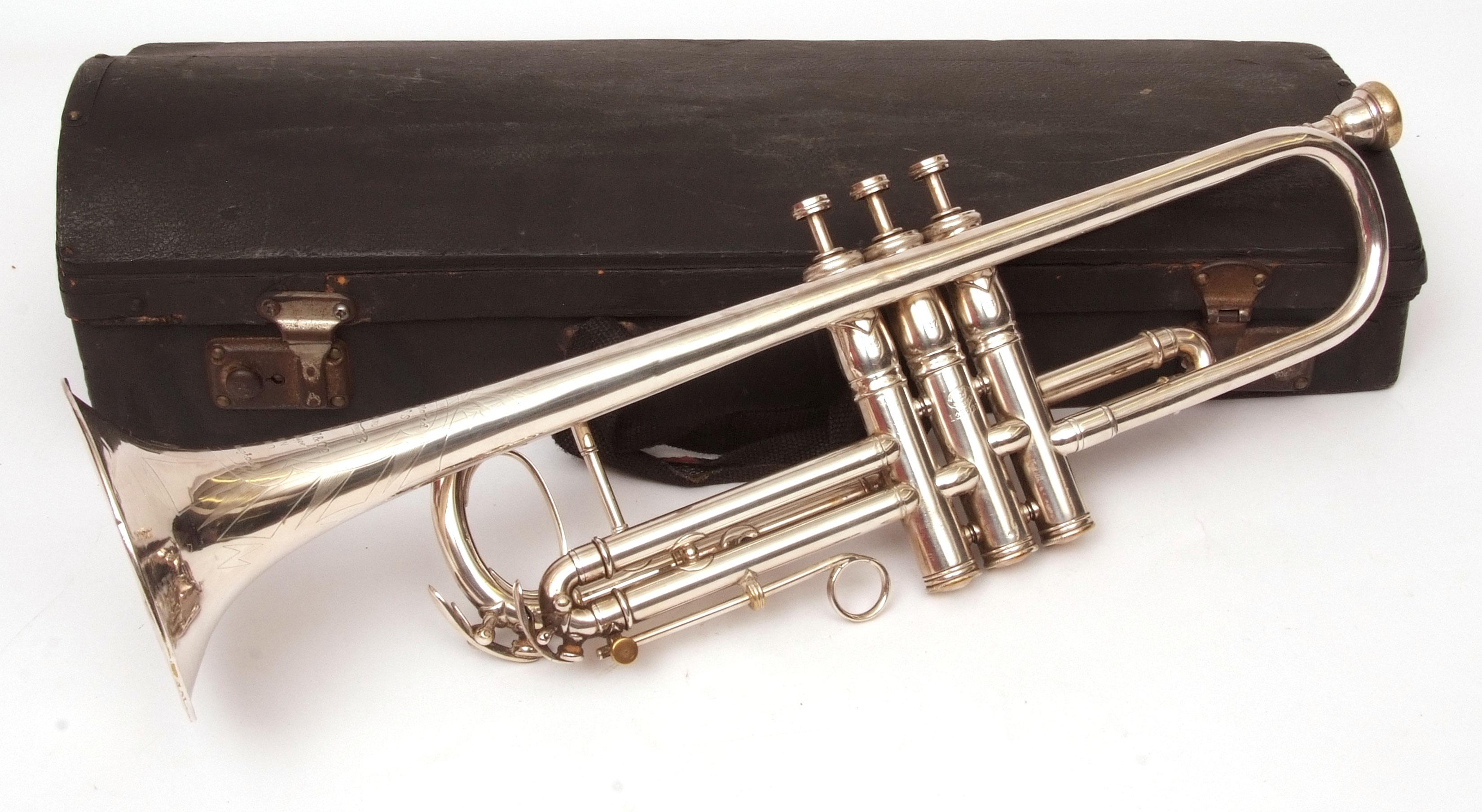 Sir Malcolm Arnold's trumpet