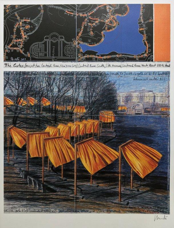Christo, The Gates, 2003.