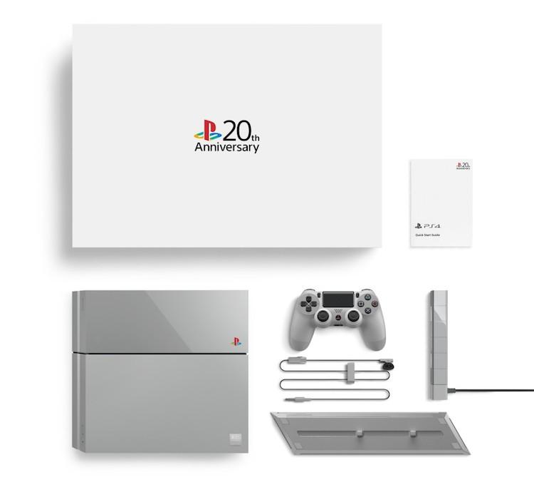 """Den limiterade upplagan av Playstation 4 """"Anniversary edition""""."""