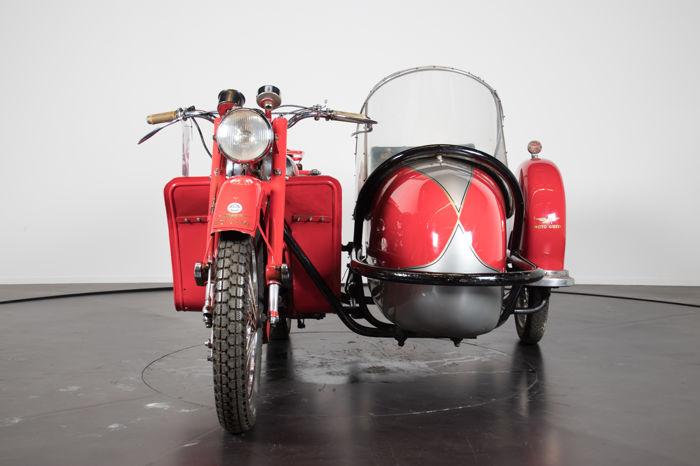 MOTO GUZZI GTV Sidecar 500 cc, 1948