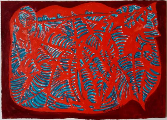 "RAFAEL CUARTIELLES. ""Rojo"" (2016)"