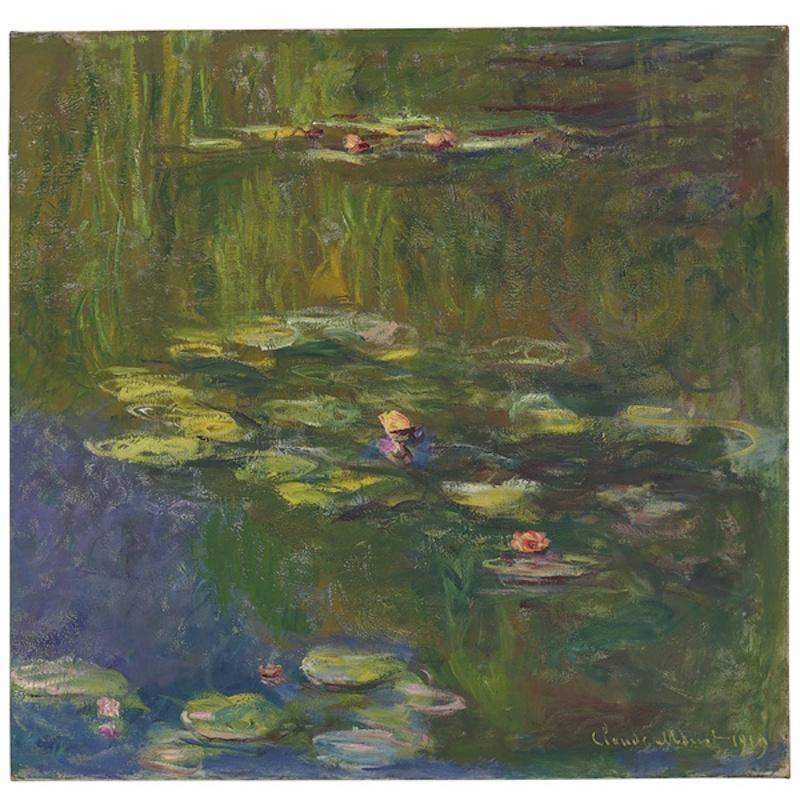"""Claude Monet, """"Le bassin aux nymphéas"""", 1919. Bild från Christie's."""