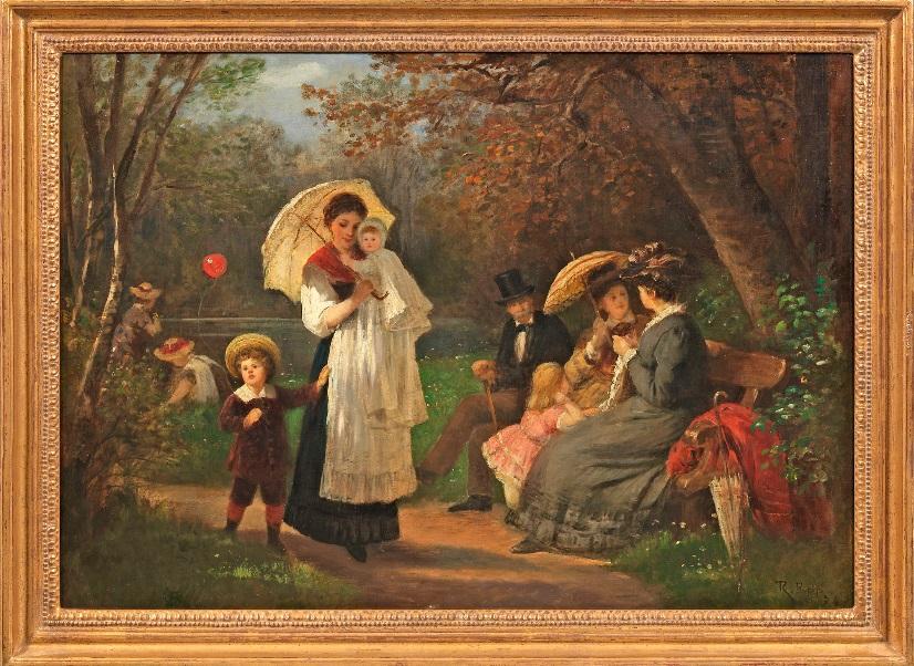Rudolf Epp (1834 Eberbach - 1910 München). Taxe  18 500 EUR.